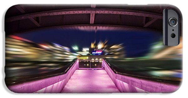 River iPhone Cases - Life Under the City in Geneva iPhone Case by Chris Smith