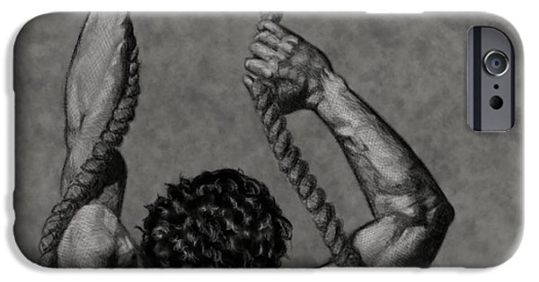 Figure iPhone Cases - Lifes Frustrations Installation #1 iPhone Case by Myke  Irving