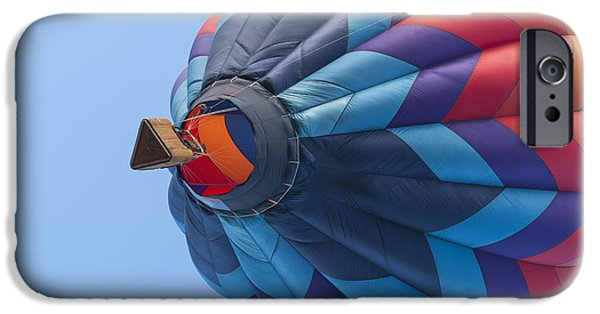 Hot Air Balloon iPhone Cases - Lift Off iPhone Case by Juli Scalzi
