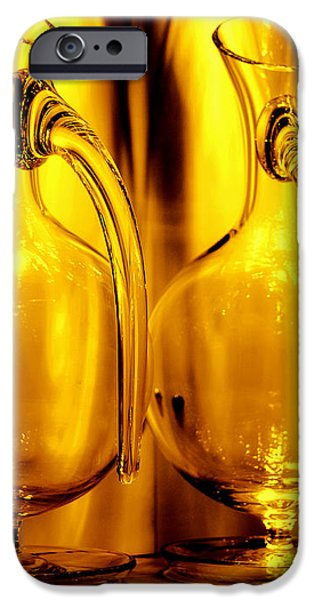 Light and Color Play II iPhone Case by Jenny Rainbow