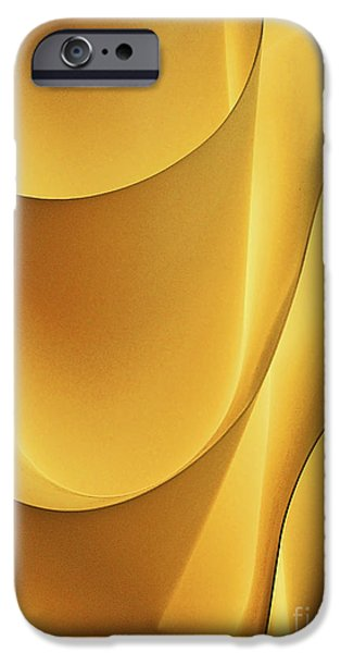 Abstract Digital Photographs iPhone Cases - Light and Form I iPhone Case by Elizabeth Hoskinson