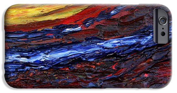 Turbulent Skies iPhone Cases - Light at the End of the Tunnel iPhone Case by Vadim Levin