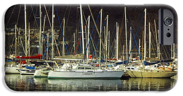 Sailboats iPhone Cases - Light From Above iPhone Case by Michael Durst