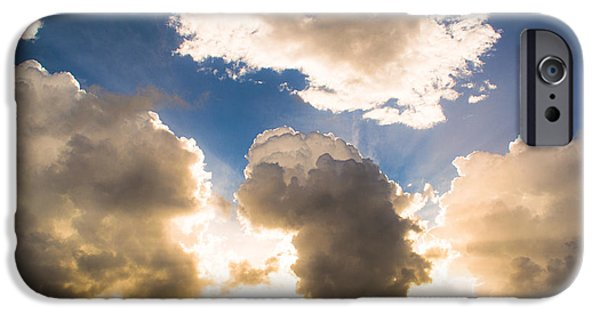 Rare Moments iPhone Cases - Light from the Heavens iPhone Case by Parker Cunningham