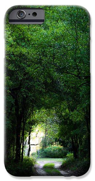 Overhang iPhone Cases - Light in Darkness iPhone Case by Shelby  Young