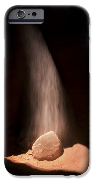 Nation Pyrography iPhone Cases - Light In The Darkness iPhone Case by Robert Rinsem