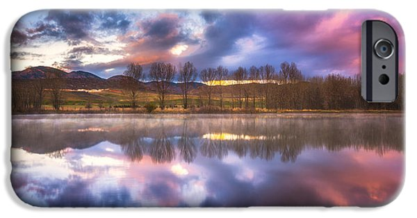 Tree Art Print iPhone Cases - Light of the Lake iPhone Case by Darren  White