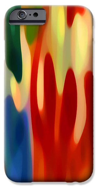 Light Through Flowers iPhone Case by Amy Vangsgard
