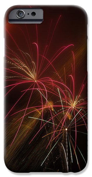 4th July Photographs iPhone Cases - Light Up The Night iPhone Case by Garry Gay