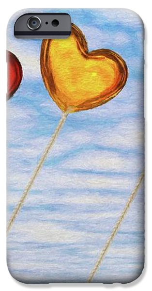 Lighter than Air iPhone Case by Jeff Kolker