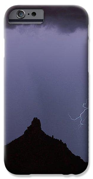 Lightnin at Pinnacle Peak Scottsdale Arizona iPhone Case by James BO  Insogna