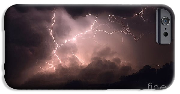 Electrical iPhone Cases - Lightning 2 iPhone Case by Bob Christopher