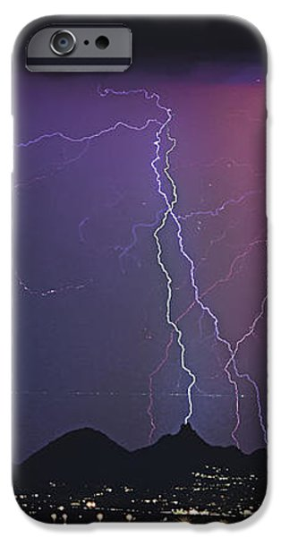 Lightning City iPhone Case by James BO  Insogna