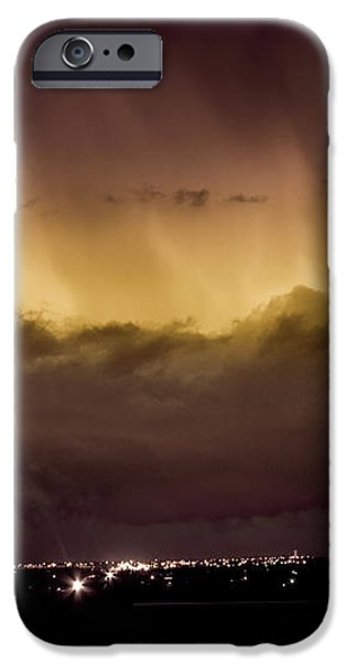 Lightning Cloud Burst Boulder County Colorado IM29 iPhone Case by James BO  Insogna