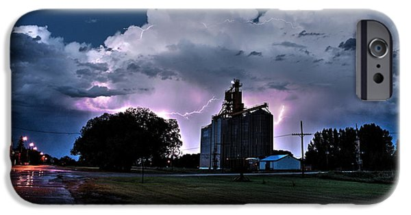 Old Barns iPhone Cases - Lightning iPhone Case by David Matthews