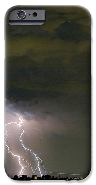 Lightning Man in the Clouds iPhone Case by James BO  Insogna