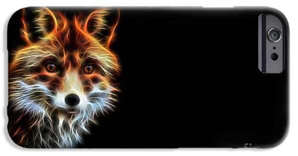 Fox iPhone Cases - Lightning iPhone Case by Marvin Blaine