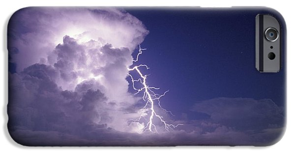 Electrical iPhone Cases - Lightning iPhone Case by Pekka Parviainen