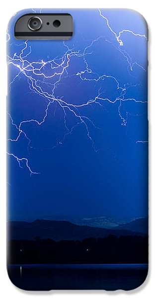Lightning Storm 08.05.09 iPhone Case by James BO  Insogna