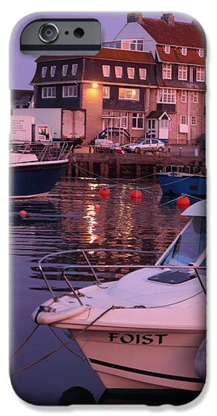 United iPhone Cases - Lights And Boats iPhone Case by Rumyana Whitcher