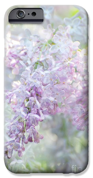 Surtex Licensing iPhone Cases - Lilacs in Bloom iPhone Case by ArtyZen Studios