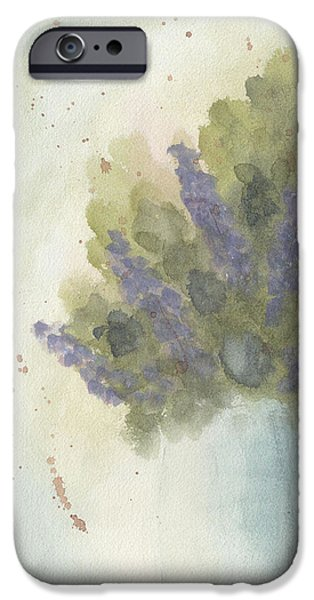Lilacs iPhone Case by Ken Powers