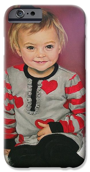 Young iPhone Cases - Lily  iPhone Case by Sharon Duguay