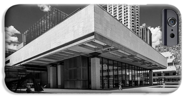 Lincoln iPhone Cases - Lincoln Center Theater iPhone Case by Stephen Shilling II
