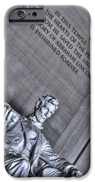 Lincoln iPhone Cases - Lincoln iPhone Case by Padrick  Weber