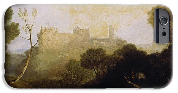 Ruins iPhone Cases - Linlithgow Palace iPhone Case by Joseph Mallord William Turner