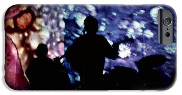Psychedelic Photographs iPhone Cases - Liquid Light Show 1968 iPhone Case by The Phillip Harrington Collection