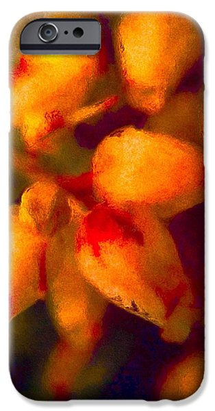 Old Digital Art iPhone Cases - Little Bells iPhone Case by Susan Maxwell Schmidt
