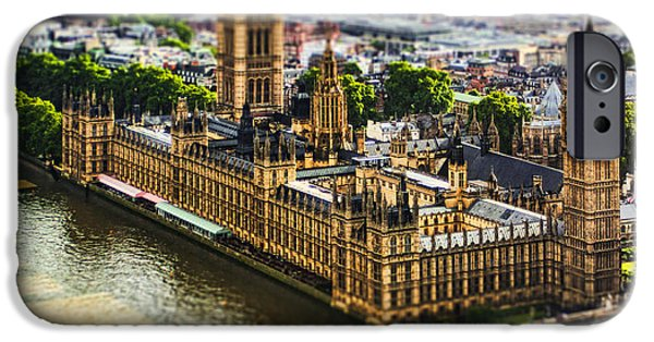 Big Ben iPhone Cases - Little Ben iPhone Case by Andrew Paranavitana