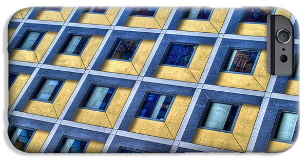 Abstract Digital Photographs iPhone Cases - Little Boxes Inside Boxes iPhone Case by Paul Wear