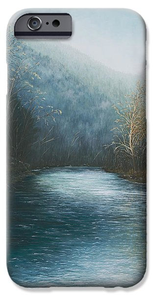 Little Buffalo River iPhone Case by Mary Ann King