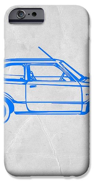 Little Car iPhone Case by Naxart Studio