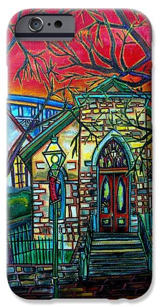Little Church at La Villita iPhone Case by Patti Schermerhorn