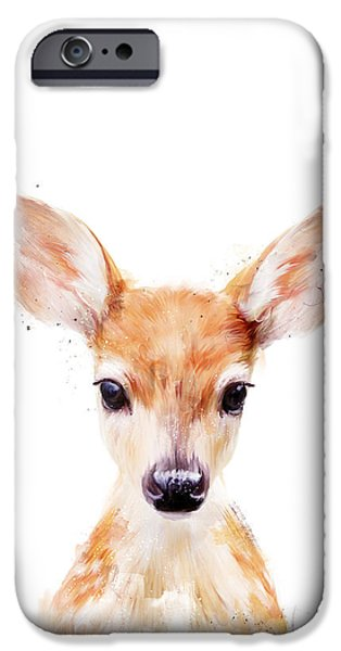 Best Sellers -  - Fauna iPhone Cases - Little Deer iPhone Case by Amy Hamilton