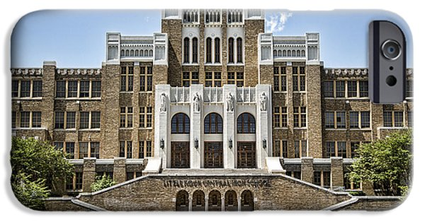 Arkansas iPhone Cases - Little Rock Central High iPhone Case by Stephen Stookey