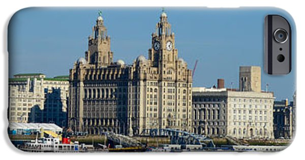 Beatles iPhone Cases - Liverpools Waterfront iPhone Case by Colin Perkins