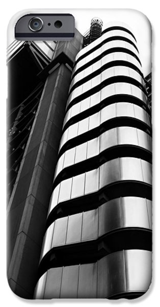 Finance Photographs iPhone Cases - Lloyds of London iPhone Case by Martin Newman