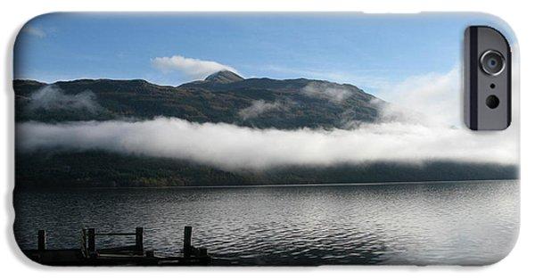 iPhone Cases - Loch Lomond iPhone Case by Maria Joy