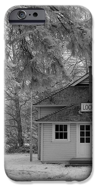 Lochiel School House iPhone Case by Bill Kellett