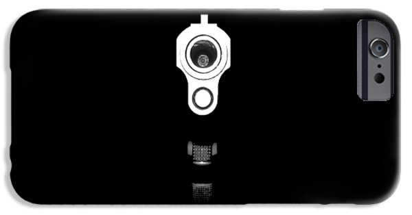 Stainless Steel Digital iPhone Cases - Locked and Loaded .png iPhone Case by Al Powell Photography USA