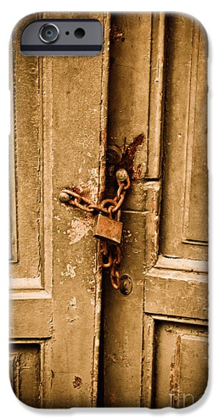 Locked iPhone Case by Gabriela Insuratelu