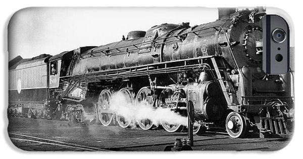 20th iPhone Cases - Locomotive: Big Boy, 1941 iPhone Case by Granger