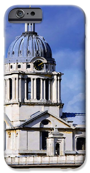 London Blues iPhone Case by Stephen Anderson