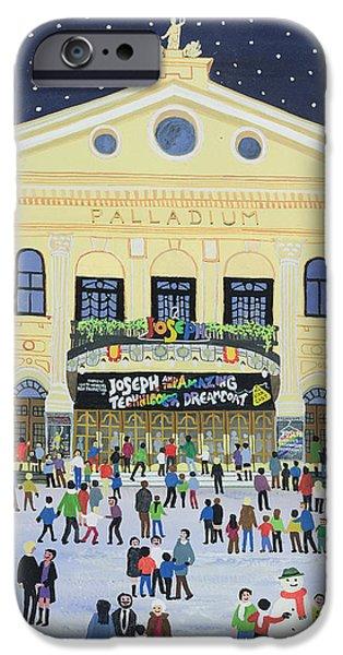 Facade iPhone Cases - London Palladium   Joesph iPhone Case by Judy Joel