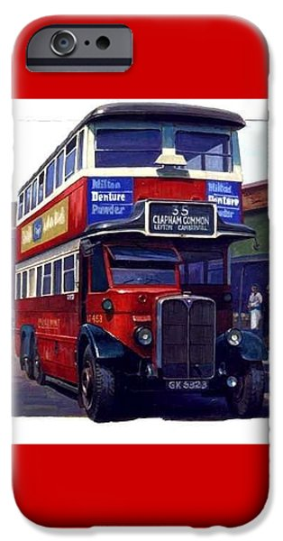 Vintage Painter iPhone Cases - London Transport Renown iPhone Case by Mike  Jeffries
