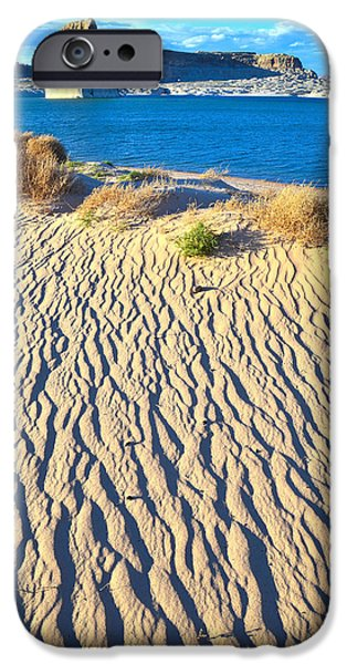 Nation iPhone Cases - Lone Rock Beach iPhone Case by Ray Mathis